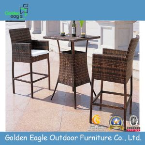 PE Rattan Waterproof Outdoor Used Bar Chair