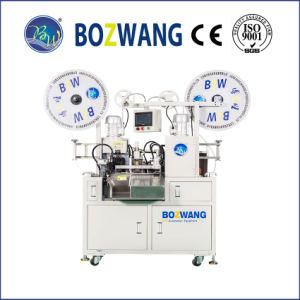 Double-End Flat Cable/Wire Terminal Crimping Machine pictures & photos