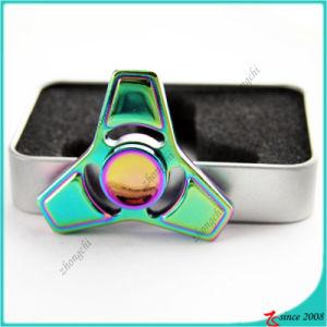 Wholesale Popular Multi-Colors Tri Metal EDC Tri Desk Fidget Spinner Toy pictures & photos