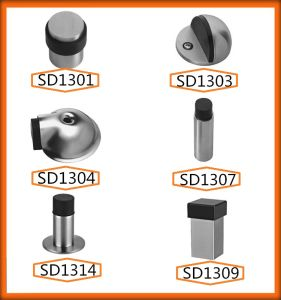 China Factory Low Price Floor Mounted Ss Door Stopper pictures & photos