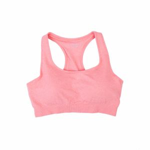 Women Basic Double Layer Seamless Sport Bra pictures & photos