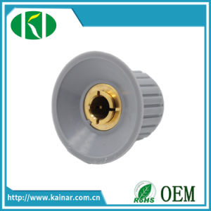 6mm Plastic Potentiometer Knob for Volume Control Kyp-32-20-6j (4J) pictures & photos