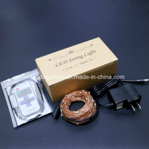 Copper Wire Rope Decorative Lighting Starlit String Light with Remote Control pictures & photos