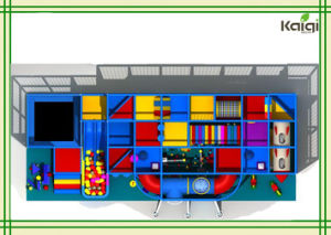Kaiqi Group Outer Space Indoor Playground for Sale/Outer Space Indoor Playground /Kids Indoor Playground pictures & photos
