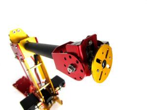 Arduino-Powered Desktop 6-Axis Parallel-Mechanism Metal Robot Arm Palletpack Industrial Robot Arm pictures & photos