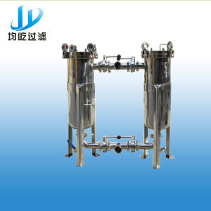 Ss304 Sanitary Duplex Bag Filter for Milk pictures & photos