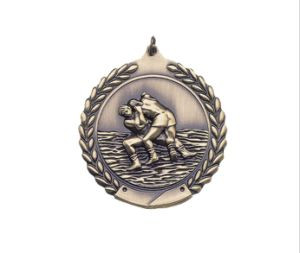 Die Casting Wrestling Kudos Medals pictures & photos