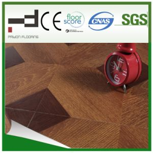 8mm Middle Embossment Parquet V Buckle Laminate Laminated Flooring pictures & photos