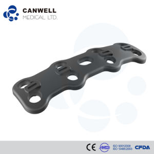 Canwell Anterior Cervical Plate Canacp Orthopaedic Implants Titanium Spine Implant Spinal Plate and Screw Titanium Spinal Plate pictures & photos