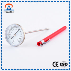 Portable Thermometer Mechanical Stainless Steel High Temperature Gauge pictures & photos