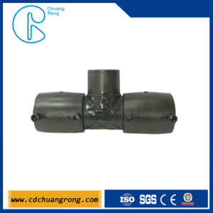 PE HDPE Electrofusion Oil Pipe Fitting Tee pictures & photos