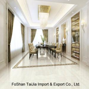Buliding Material 600X600mm White Tulip Porcelain Polished Tile (TJ6503) pictures & photos