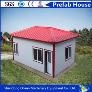 Flexible Style Beautiful Prefab House with Comfortable Design of Light Steel Structure pictures & photos