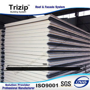 Low Price 25mm PU Sandwich Panel/ Latest Design pictures & photos