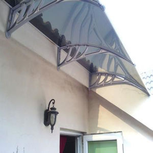 Anti Impact and Anti Drip Polycarbonate Awning pictures & photos