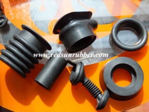 EPDM Moulded Auto Rubber Parts with Black Colour