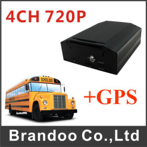 Economical 4CH High Definition Ahd 720p GPS Mobile DVR pictures & photos