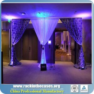 2017 Pipe and Drape Wedding Tent with Chiffon Velvet pictures & photos