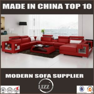 Special Design U Shape Real Leather Furniture pictures & photos