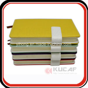 Custom Magnetic Closure Leather Journal Travel Diary and Calendar Printing pictures & photos