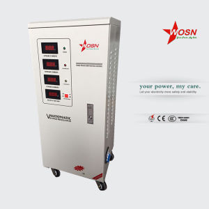 First Class: Three-Phase 20kVA Voltage Stabilizer for Water Pump pictures & photos