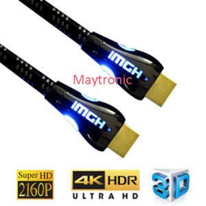 OEM High Speed Gold Plated 2160p HDMI to HDMI Cable pictures & photos