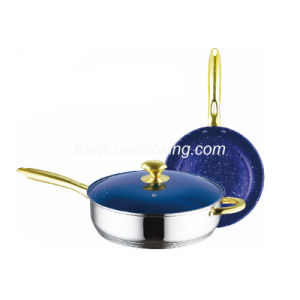 3PS Stainless Steel Frypan Set pictures & photos