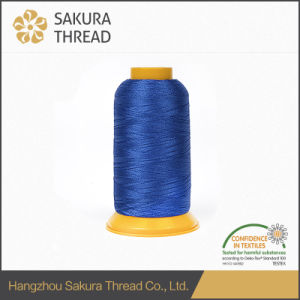 100% Polyester Yarn for Embroidery on Hats, Bags, Leisure Clothes pictures & photos