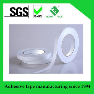 White Tissue Double Sided Adhesive Tape pictures & photos