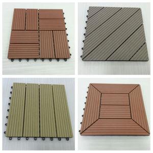 Interlocking Plastic Decking Tiles pictures & photos