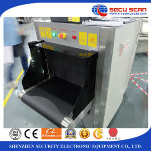 CE and ISO certificate X ray baggage scanner AT6040 X-ray screening machine pictures & photos
