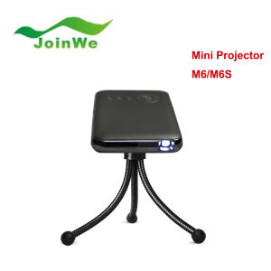 M6 DLP LED Mini Projector 1000lm 854 X 480 Pixels pictures & photos
