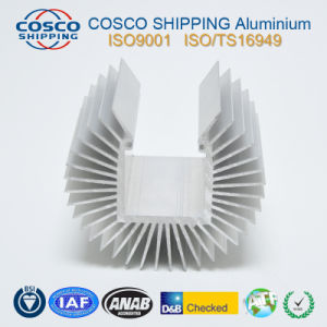 High Precision Aluminum LED Heatsink with CNC Machining pictures & photos
