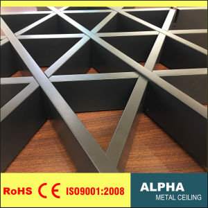 Metal False Decoration Suspended Aluminum Triangle Cell Ceiling pictures & photos
