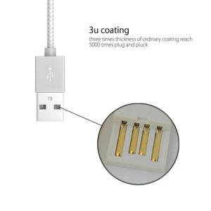 8 Pin USB Charger Cord Sync Data Cable pictures & photos