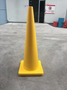Orange Flexible PVC Cone with 150 + 100 High-Intensity pictures & photos