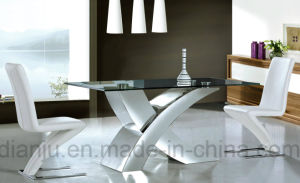 Hot Sales Special Design Dining Set Glass Table (A6020) pictures & photos