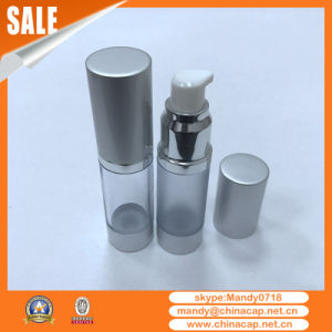 China Cylinder Frosted Aluminum Airless Cream Bottles 15g30g50g pictures & photos