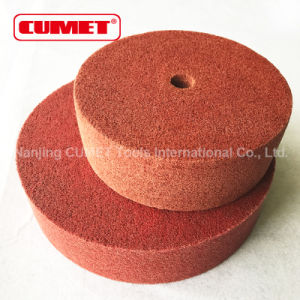 Red Non-Woven Polishing Wheel pictures & photos