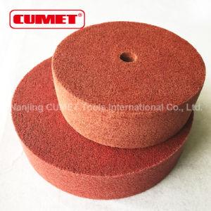 Red Non-Woven Polishing Wheel pictures & photos