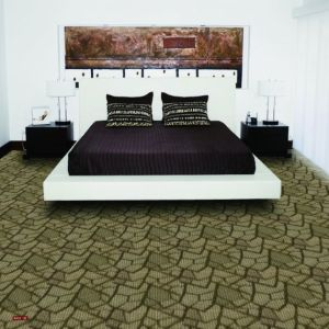 N401-Rolled 1/10 Nylon-PA6 Organic Woven Full-Width Repeat Office/Hotel/House Carpet pictures & photos