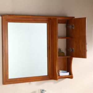 Wholesale Hot Sale Modern Soild Wood Bathroom Vanity pictures & photos