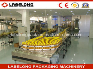 Automatic Edible Oil Bottle Filling Capping Labeling Machine Production Line Gyf-12-5f pictures & photos