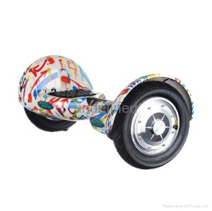 Graffiti 10 Inches Two Wheels Smart Self Balance Electric Scooter
