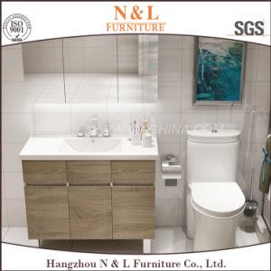 N&L Melamine MDF Wooden Bathroom Vanity pictures & photos