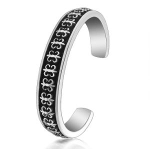 Gothic Men Cuff Bangles 316L Stainless Steel Fashion Accessories pictures & photos