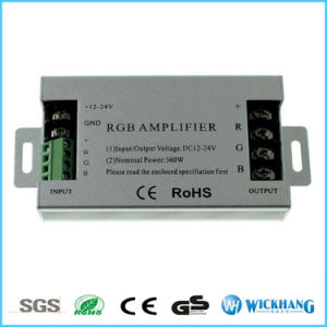 30A LED RGB Amplifier DC12V for Synchronously 10m 15m 25m 5050 RGB Strip pictures & photos