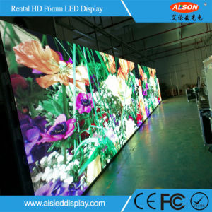 Outdoor Rental P6 Full Color LED TV Screen for Moving Stage pictures & photos