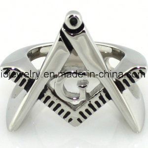 316L Stainless Steel Masonic Ring Jewelry pictures & photos