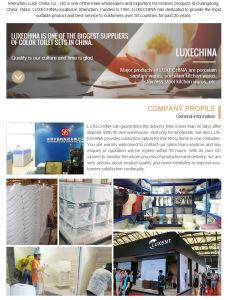 China Supplier Bathroom Vanity, Black Shampoo Ceramic Basin pictures & photos